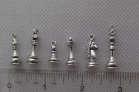 Games - Chess Piece Charms
