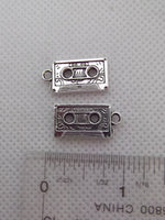 Mix tape / cassette tape charm