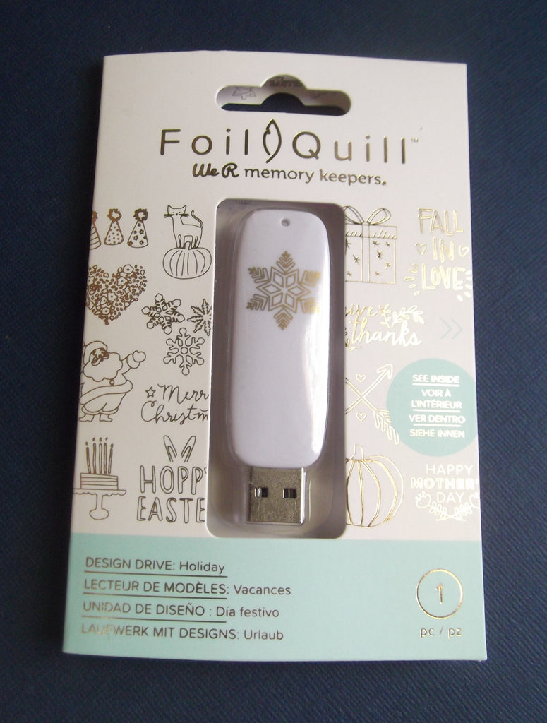 Foil Quill USB - HOLIDAY ART