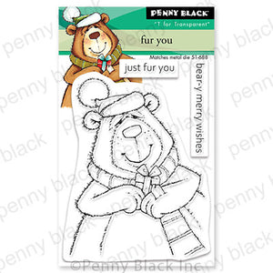 Penny Black Clear Stamp, Fur You