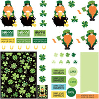 "Tulla & Norbert's ""Lucky Charm"" from Photoplay - Diecut paper"