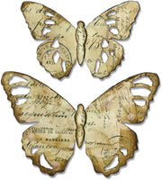 Sizzix TATTERED BUTTERFLY  Bigz die