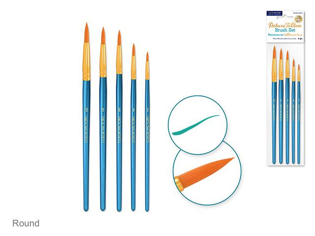 Paint Brush Sets - Round