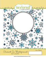 Snowed In Background stamp  - Taylored Expressions