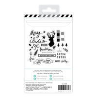 HEIDI SWAPP: Winter Wonderland Clear Stamp