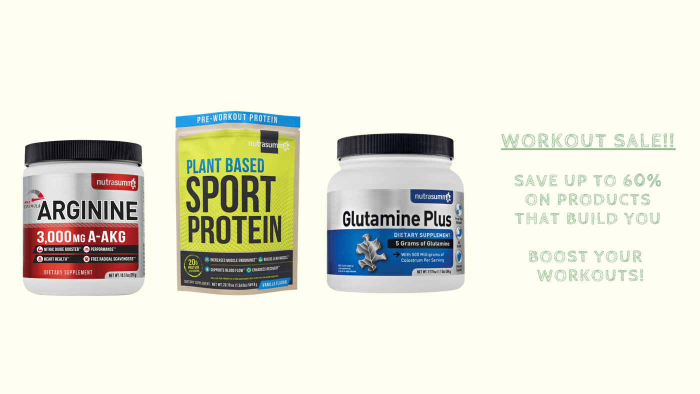 Nutrasumma Workout Sale
