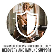 Immunoglobulins for full body recovery and immune support