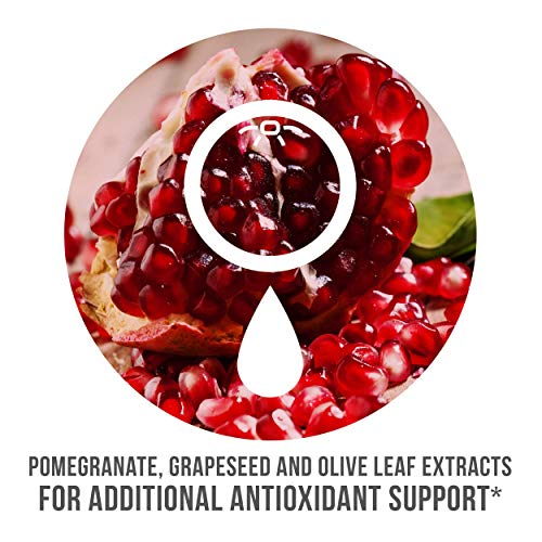 Pomegranate and Grapeseed for additional antioxdant support