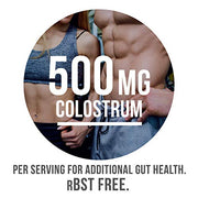 Nutrasumma Colostrum packed at about 500MG