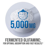 5,000 milligrams of Fermented Glutamine for optimal absorption and fast results