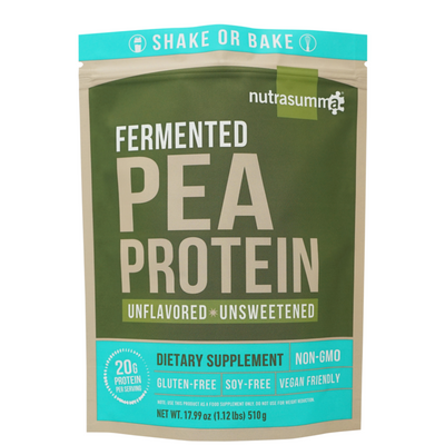 Nutrasumma Fermented Pea Protein - Unflavored