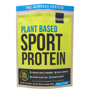 Plant Based Sport Protein 1lb Pouch - Vanilla Flavor