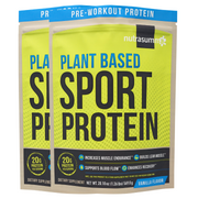 Nutrasumma plant based sport protein powder 2-pack