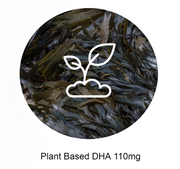 Plant Based DHA Algae 110mg