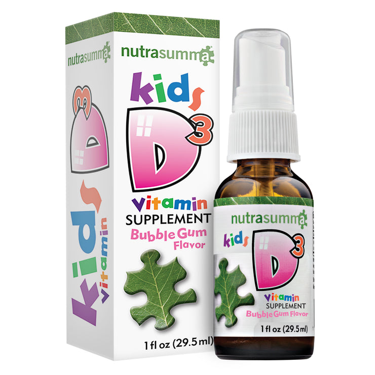 Kids Vitamin D3 1oz (BubbleGum Flavor)