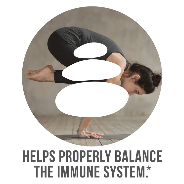 Helps properly balance the Immune System