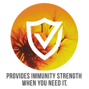 provides Immunity and Strength when you need it