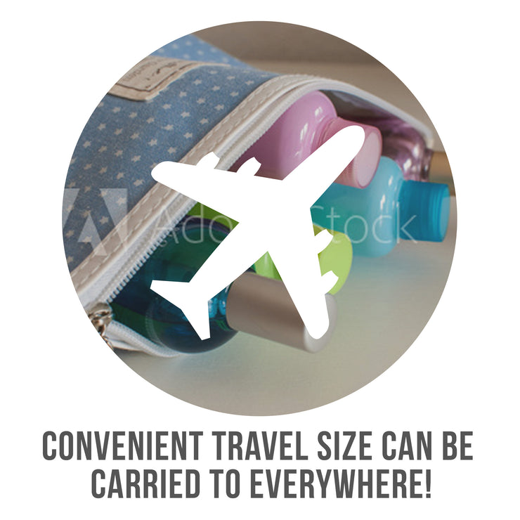 Convenient travel size can be carried anywhere
