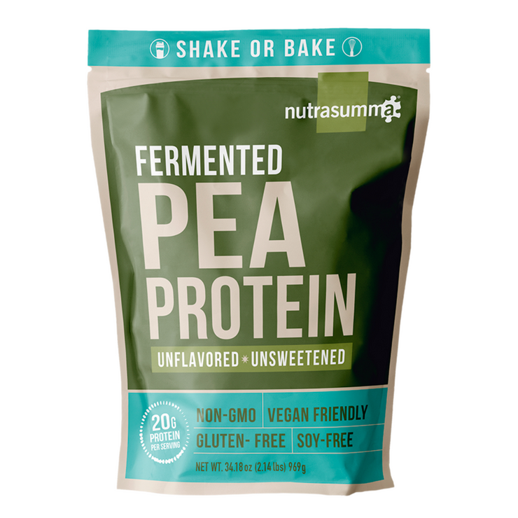 Fermented Pea Protein 2.14 lb Pouch - Unflavored & Unsweetened