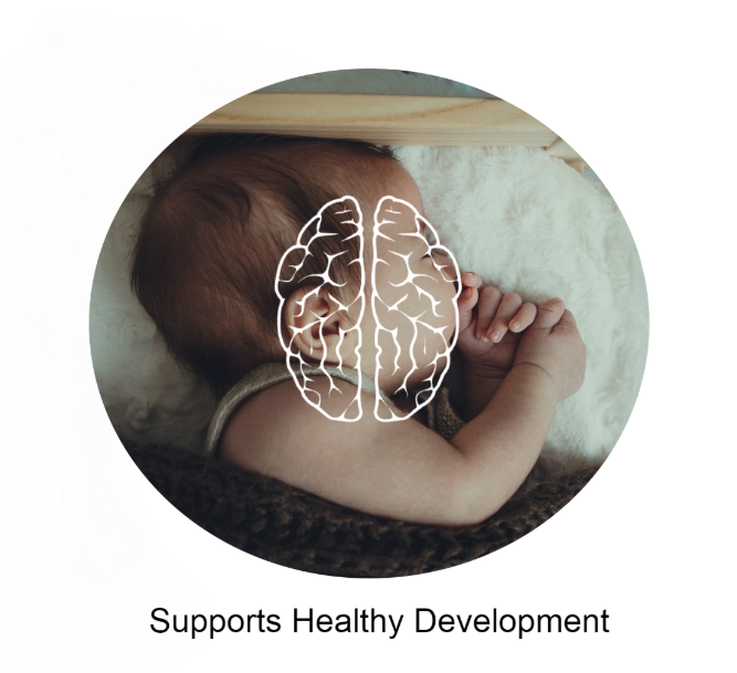 Supports Healthy Development  in Infants