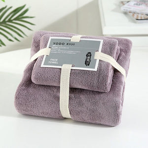 Coral Velvet Absorbent Bath Towels for Adults Face Towel Bath Towel Set Soft Comfortable Bathroom Towel Set 70*140 11 Colors
