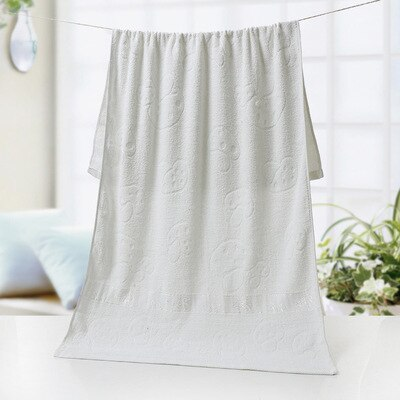 Bai yu jin 21 Unit 400 Grams Hotel Hotel Beauty Salon Embroidered Logo Adult Large Bath Towel