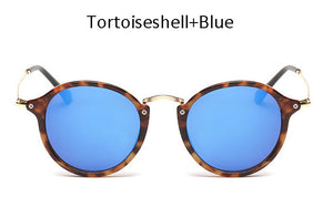 TSHING New Women Classic Oval Sunglasses Men Retro Luxury Brand Designer Superstar Mirror Sun Glasses UV400
