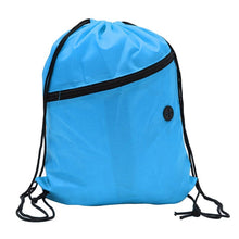 Mini Waterproof Nylon Shoe Bags Storage Gym Bags Drawstring Dust Backpacks Storage Pouch Outdoor Travel Duffle Sports Bags 30