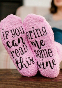 Unisex wine socks If You can read this Socks Women Men socks Christmas Casual Do Not Disturb Soft Sock Drop ship