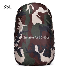 20-80L Adjustable Waterproof Dustproof Backpack Rain Cover Portable Ultralight Shoulder Protect Outdoor tools Hiking