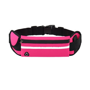 Adjustable Outdoor Waterproof Men Women Running Waist Bag Fitness Belt Pack Mobile Phone Holder Jogging Sports Running Water Bag