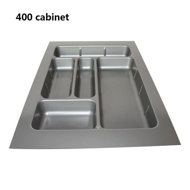 Drawer Cutlery Tray Kitchen Cabinet Chopsticks Storage Box Buffet Plates Tableware Compartment Divider Cutlery Tray Organiser