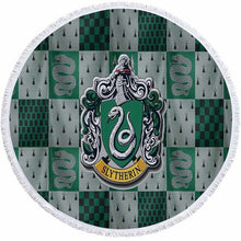 3D Printed Harri Potter Round Beach Towel Absorbent Microfiber Towels For Kids Adults Toalla Beach Carpet Tapestry Blanket