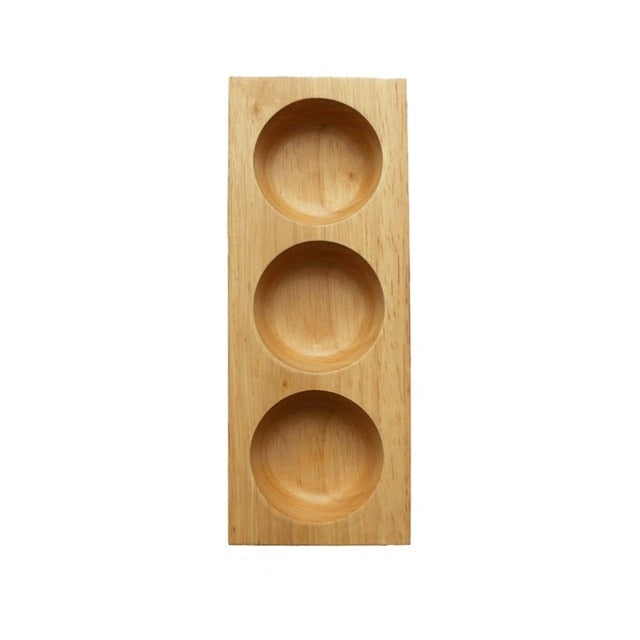Wooden Dried Fruit Plate Creative Japanese Storage Tray Sushi Sashimi Platter Tableware Decorations Food Organizer Decoration