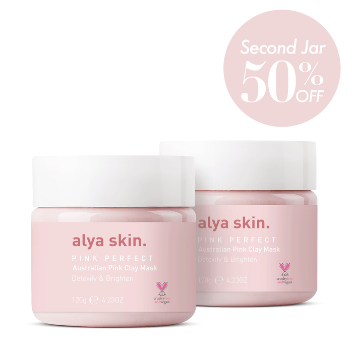 Twin Pack - Alya Skin Pink Clay Mask