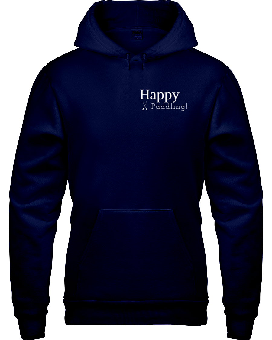 "Coast to Coast Paddle ""Happy Paddling!"" Hoodie"