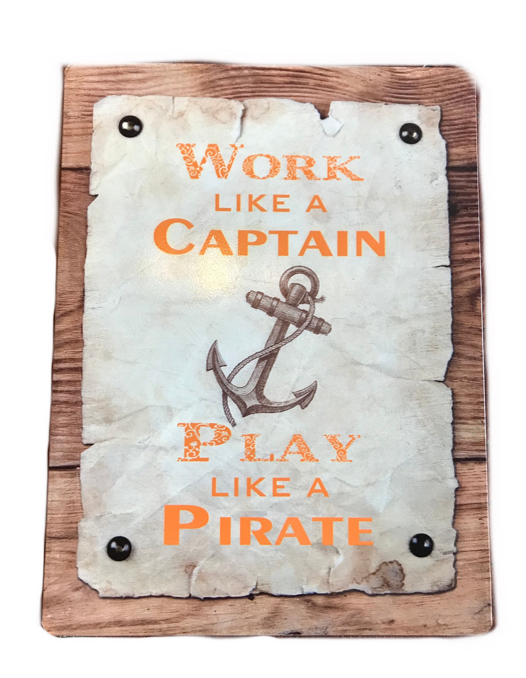 Captain/Pirate Wall Sign