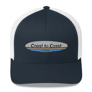 Coast to Coast Paddle Logo Trucker Hat