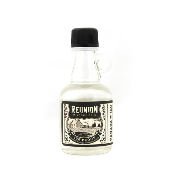 Reunion 100 Proof Moonshine Mini