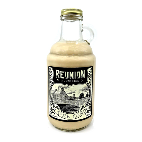 Reunion Irish Cream Moonshine