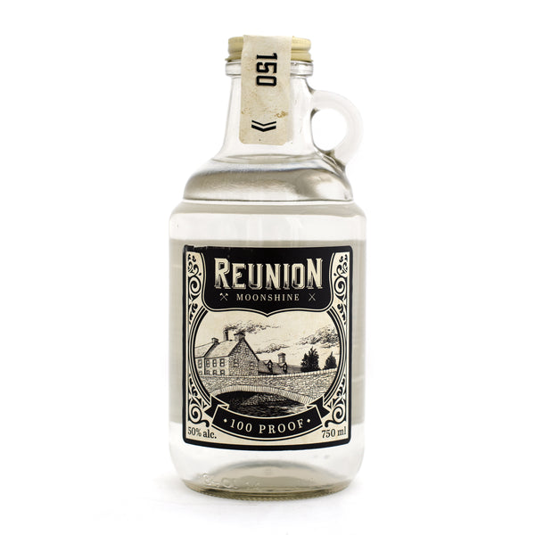 Reunion 100 Proof Moonshine