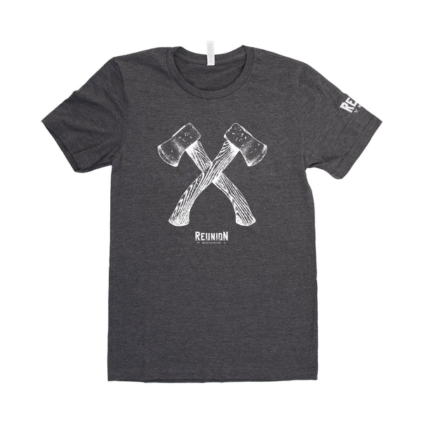 Reunion Moonshine T-Shirt with Axes