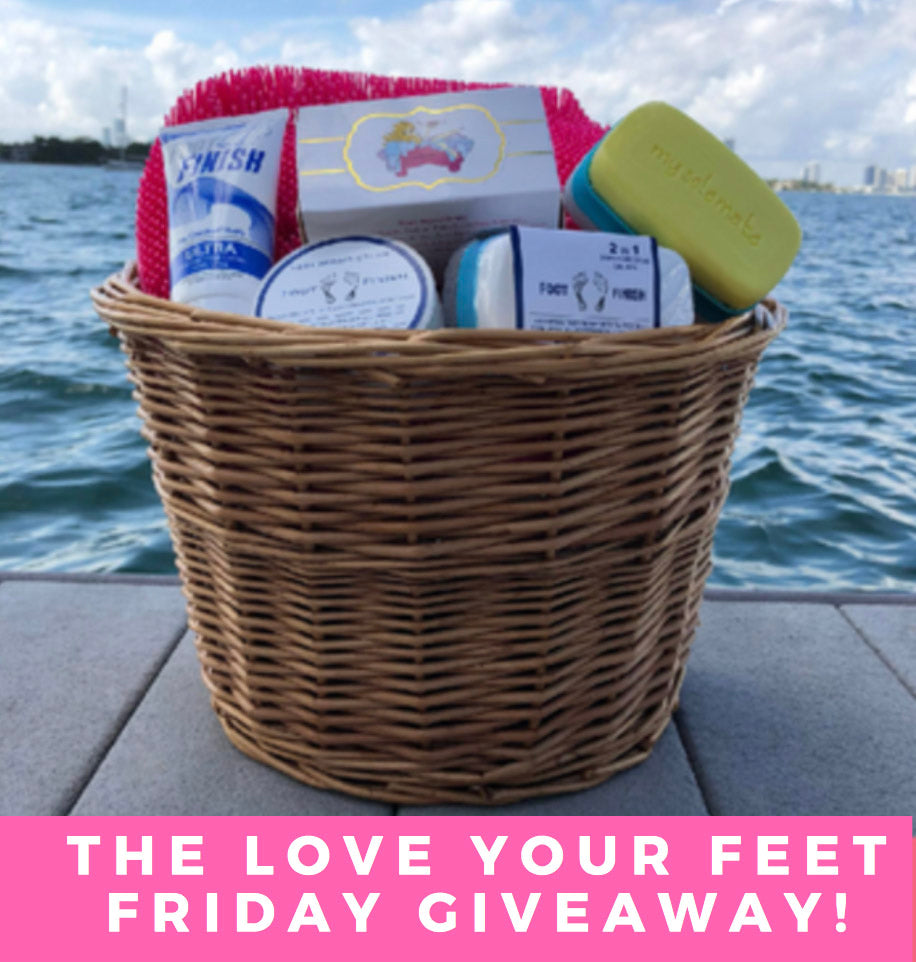 The Love Your Feet Friday Giveaway (December 29th - January 5th 2018)