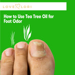 How to Cure Smelly Feet With Tea Tree Oil - Odor Treatment