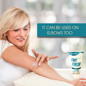 Foot Finish Moisturizing Cream With 25% Urea For Dry Cracked Skin