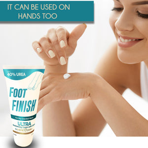 Load image into Gallery viewer, Foot Finish Moisturizing Cream With 40% Urea For Severely Dry Cracked Skin