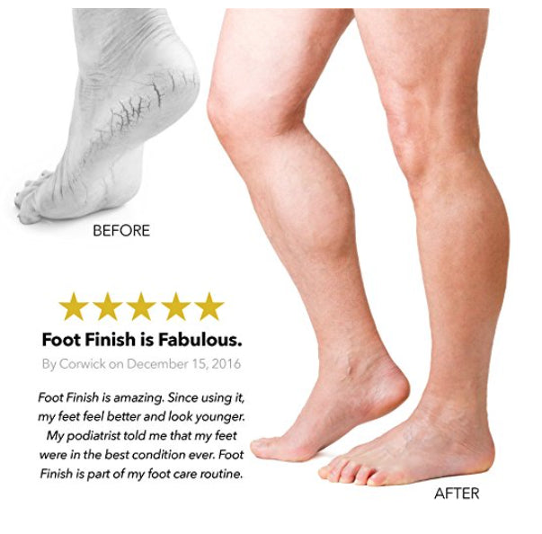Foot Finish Pumice Stone & Soap 2 In 1