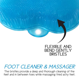Shower Foot Massager Scrubber & Cleaner By Love, Lori