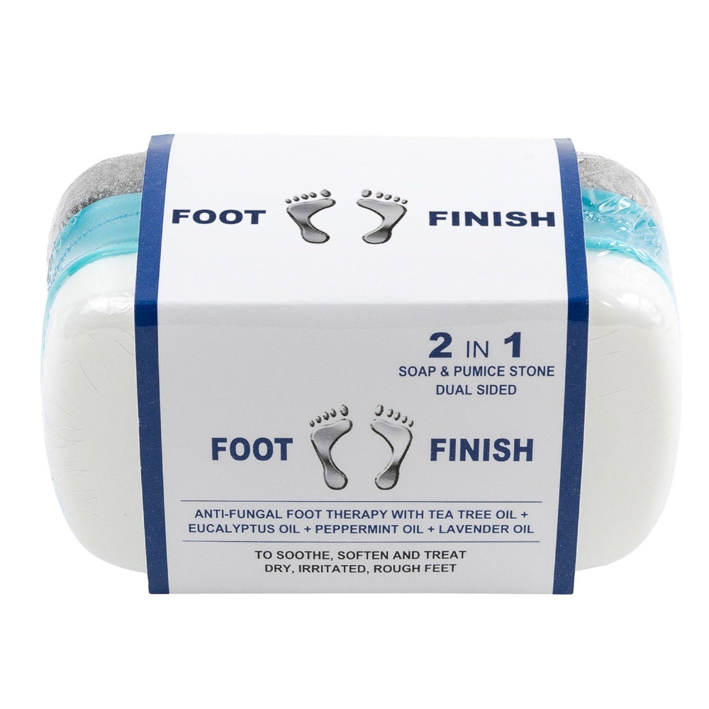 Athletes Foot Pumice Stone with Tea Tree Oil & Antifungal Soap by Love, Lori