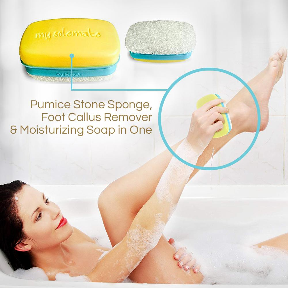My Solemate 2 in 1 Pumice Stone and Callus Remover by Love, Lori
